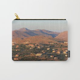 Light from the Sunset Carry-All Pouch