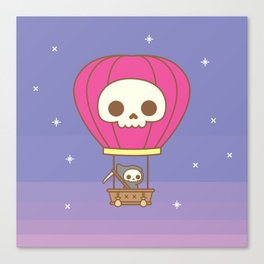 Hot Air Balloon Rides with the Reaper Canvas Print