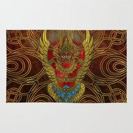 Garuda - bird of Vishnu Rug