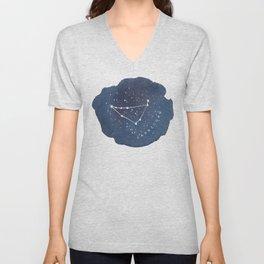capricorn constellation zodiac Unisex V-Neck