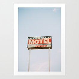 earlimart motel Art Print