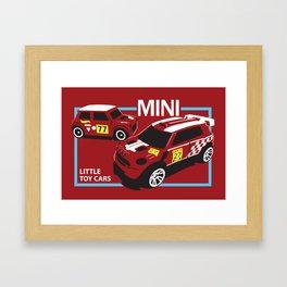 Little Toy Cars Framed Art Print