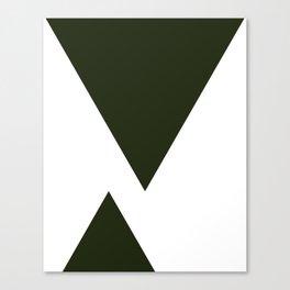 Abstract Black Canvas Print