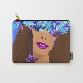 WOMAN I KNOW WHO I AM Carry-All Pouch