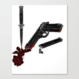 Guns and Posers Canvas Print