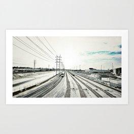 Los Angeles River Art Print
