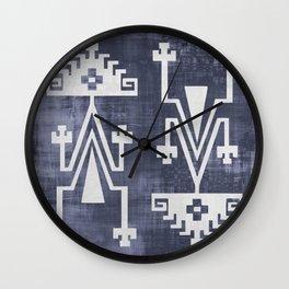 Chilean Tribal Wall Clock