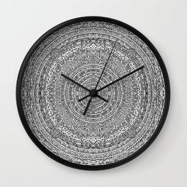 Mandala Dante Inferno Wall Clock