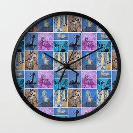 Shoe Pop Collector Wall Clock