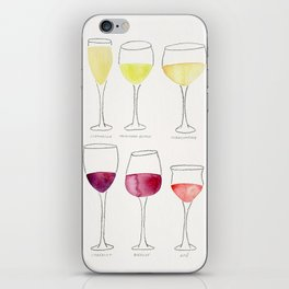 Wine Collection iPhone Skin