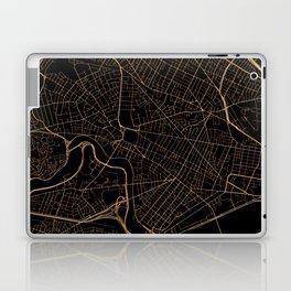 Cambridge map, Massachusetts Laptop & iPad Skin