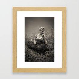 Young Marilyn Monroe Framed Art Print