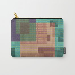 Weaving Loom Geometric Print 1 Carry-All Pouch