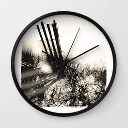 art in the sand series 1 Wall Clock
