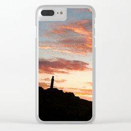 Carlton Hill Clear iPhone Case