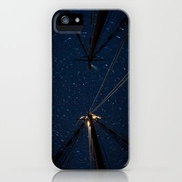 Beyond the Masts iPhone Case