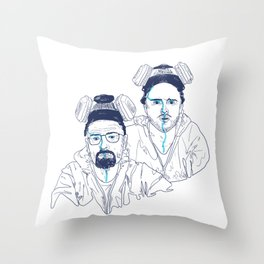 WALTER & JESSE Throw Pillow