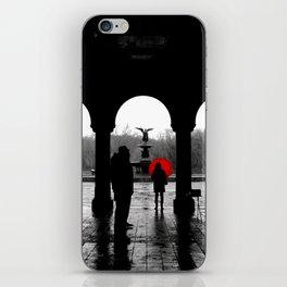 Bethesda Terrace Red iPhone Skin