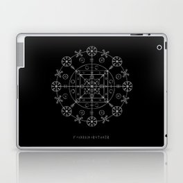 WitchRide Stave Laptop & iPad Skin