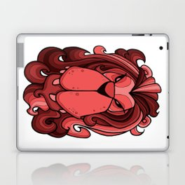 Lion - Chile Oil Red Laptop & iPad Skin