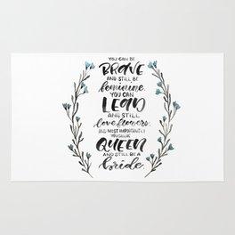 Queen & Bride Rug