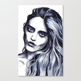 Sky Ferreira by Hedi Slimane Canvas Print