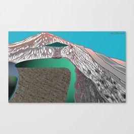 Mount Ting Canvas Print