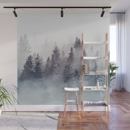 Winter Wonderland - Stormy weather Wall Mural