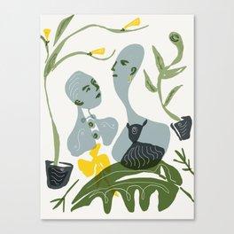 socialite Canvas Print