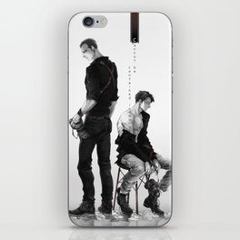 Cherik: Cannot be Contained in Words iPhone Skin
