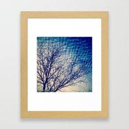 Headed Home Framed Art Print