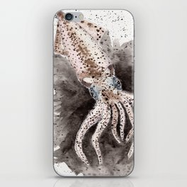 Squid ink and tentacles iPhone Skin