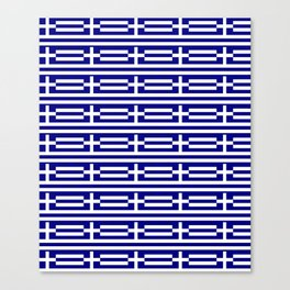flag of greece 2-Greece,flag of greece,greek,Athens,Thessaloniki,Patras,philosophy,theater,tragedy Canvas Print