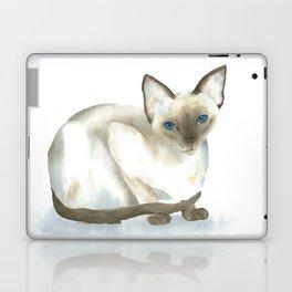 chocolate point siamese cat 1 Laptop & iPad Skin