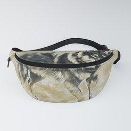 Timber Wolf Fanny Pack