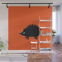 Angry Animals: hedgehog Wall Mural