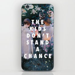 Lilies Don't Stand A Chance iPhone Skin