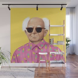 The Israeli Hipster leaders - David Ben Gurion Wall Mural
