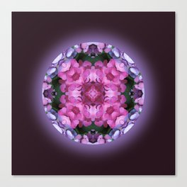 Tranquility Mandala for Life Canvas Print