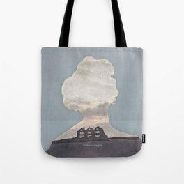 Emily Brontë Wuthering Heights - Minimalist literary design Tote Bag