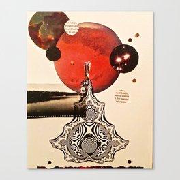 Tribute to Leia Canvas Print