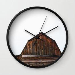 The Popular Barn Wall Clock