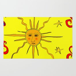 YellowSunPong Rug