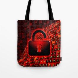 Unprotected data Tote Bag