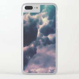 Storm Clouds 3 Clear iPhone Case