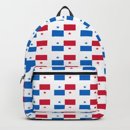 flag of panama 2 -Panama,Panamanian,canal,spanish,San Miguelito,Tocumen,latine,central america,panam Backpack