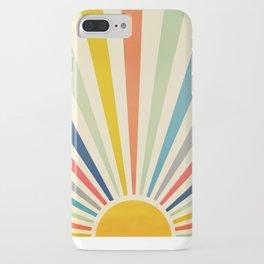 Sun Retro Art III iPhone Case