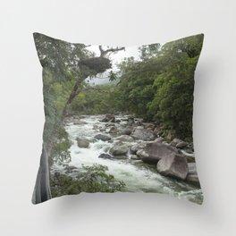 Mossman Gorge Throw Pillow