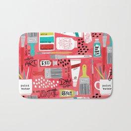 Love to Make Art! Bath Mat