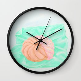 mmm more donuts Wall Clock
